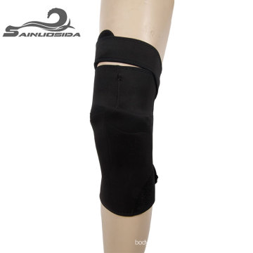 black Motocross Knee Guard
