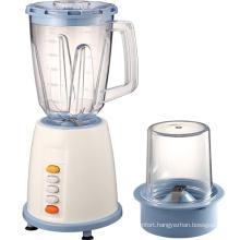 Electric kitchen push button food processor blender machine