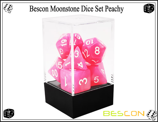 Peachy Dice Set-4