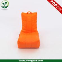 Orange kids indoor bean bag chair