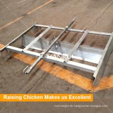 Landwirtschaftlicher Hafen Automatisches Huhn-Düngemittel-entfernendes System für Geflügel-Ausrüstung