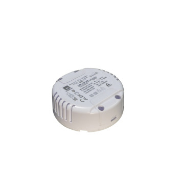 Round 12v constant voltage dimmable led driver
