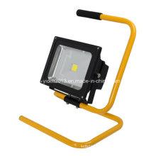 Novo 12V 24V recarregável e portátil 5W LED Solar Flood Light