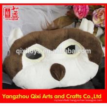 2015 wholesale kids party mask plush toy animal mask facial monkey mask