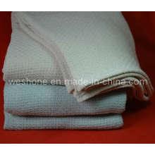 100 % weicher Baumwolle gewebte Decke