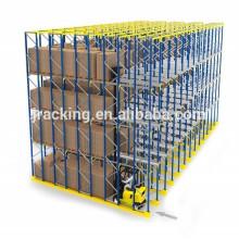 Heavy duty EURO Palettenregale, Jacking warehose High-Density-Ebay-Laufwerk im Lagerregalsystem