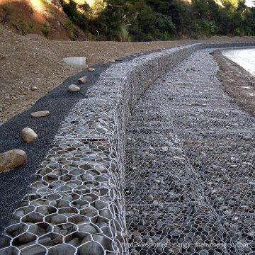 Caja de Gabion galvanizado por mayor de China para muro de contención (GB)