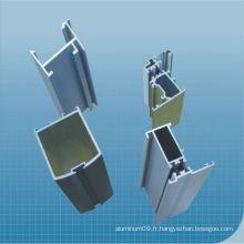 Profilé d'extrusion industriel en aluminium 2217