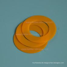 Kundenspezifisches Formteil-Silikon-Gummizylinder-Blatt