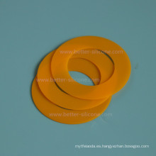 Hoja personalizada del cilindro de goma de silicona del moldeado