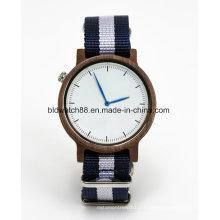 Nuevos relojes deportivos reloj de pulsera de cuarzo de banda de Nato para hombre