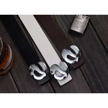 Ceinture design italienne PU classic, ceinture homme et boucle