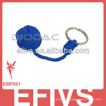 2015 latest survival monkey fist keychain for customized