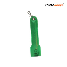 Hallo Viz Warnung Green LED Keychain