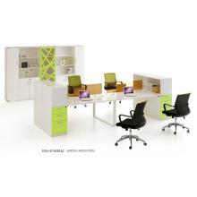 4-Sitzer einzigartiger charaktervoller Design-Arbeitsplatz (FOH-SF-M3614)