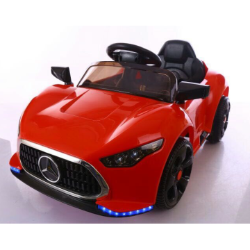 Big red children's toy car