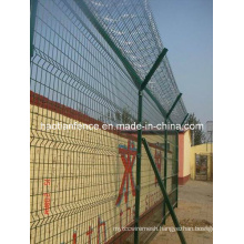 Steel Fence / Galvanized Steel Weld Mesh Fencing