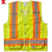 industrial reflective warning waistcoat