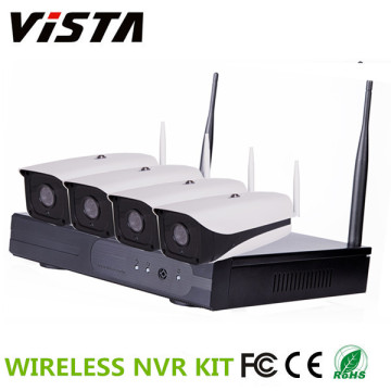 1MP 720p 4CH im freien WIFI IP Kamera NVR-Kit