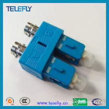 Sc-St Duplex Hybrid Fiber Optic Adapter