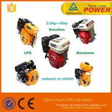 Motor de gasolina pequeño especializado GX200 6.5hp OHV eje vertical y