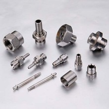 CNC machining metal aluminum lathe parts
