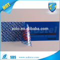 Kundenspezifische manipulationssicherheitsgarantie void blue tape manipulationssichere Verpackungsbänder