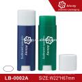 Kosmetik leere Eco Oval Lippenbalsam Tube, Lippenbalsam Container