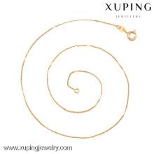 42638 (media docena) -Xuping Collar de cadena larga de joyería de alta calidad