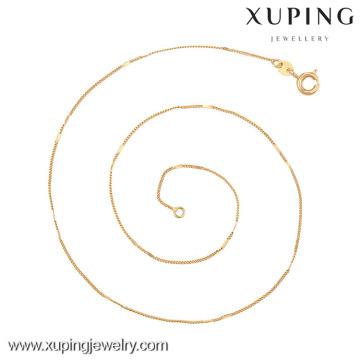 42638 (meia dúzia) -Xuping jóias de alta qualidade colar de cadeia longa