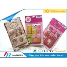 wholesale custom epoxy resin fridge magnet sticker for promotional gift
