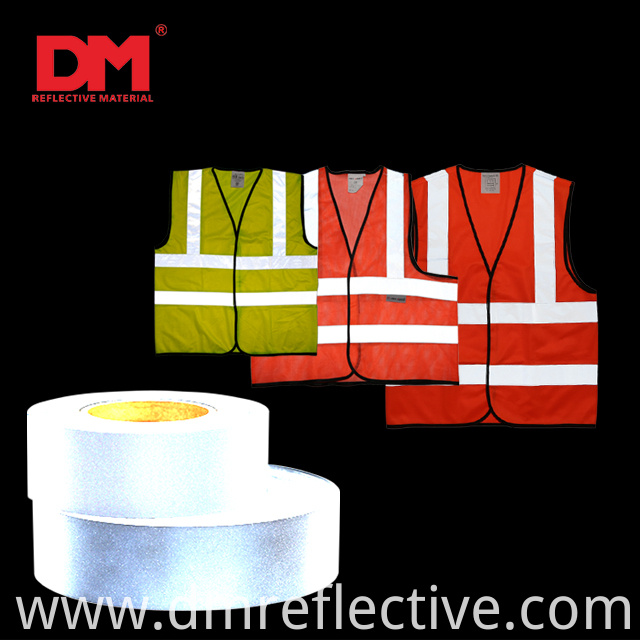 Reflective Fabric For Safety Vest