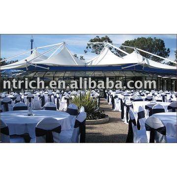 100% Polyester Stuhlabdeckung, Hotel / Bankett Stuhl Abdeckungen