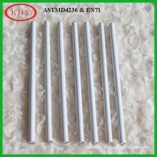 Conform to EN71 round white color pencil