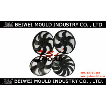 Injection Plastic Car Fan Blade Mould