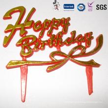Decoração do bolo de aniversário feliz por atacado de China