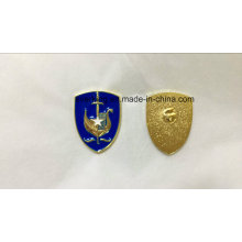 Factory Cheap Promotional 3D Metal Shield Badge