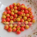 Festival 10mm Crystal Plastic Round Gemstone Tiny beads