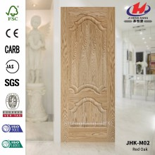 JHK-M02 FSC Thickness 3mm Popular In Russia Oak Veneer HDF Door Skin   Quality Assured