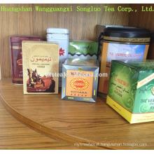 Melhor gosto e alto grau cha cha chunmee chá chá verde com pacote customerized