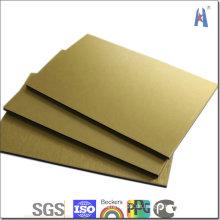 Dekorationverkleidung Marmor Holzspiegel Pinsel Aluminium Verbundplatte