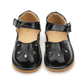 Kasut Squeaky Black Baby Shoes Baby