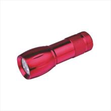Dry Battery Aluminum LED Flashlight (CC-6001)