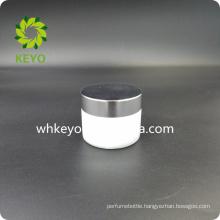 50g white cosmetic cream glass jar