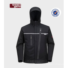 Горячая продажа водонепроницаемый дышащий софтшелл куртки дешевые мужские софтшелл куртки