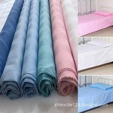 Polyester Cotton Home Textile Satin Stripe Fabric