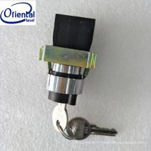 Commutateur à clé en plastique pour 810nm diode laser machine d'épilation