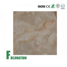 Recubrimiento UV PVC Decorativo Junta de mármol artificial