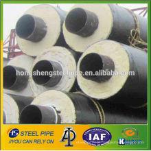 """26 """"tubo de isolamento & anti-corrosão 3PE ERW revestido api5l lsaw tubos de aço"""