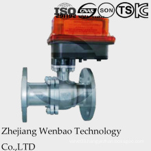 2 PC Flange Medium Pressure Ball Valve with Taiwan Actuator